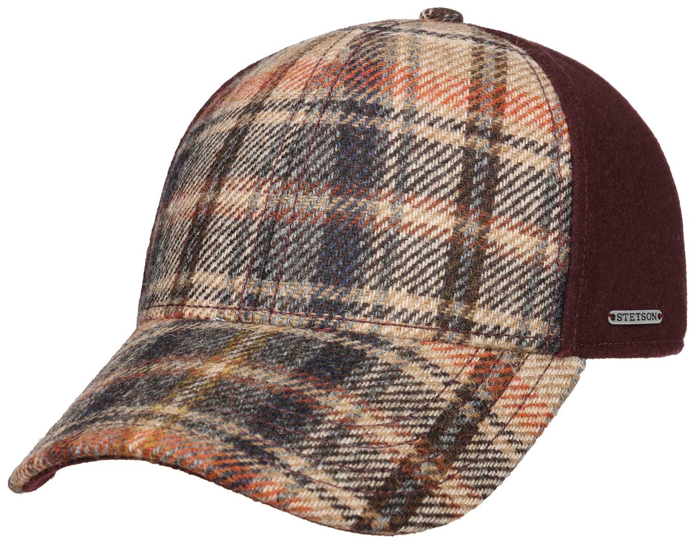 Stetson Deckers Wool Check Cap