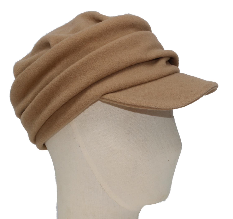 Hüte von Hand Carola Wolle Camel