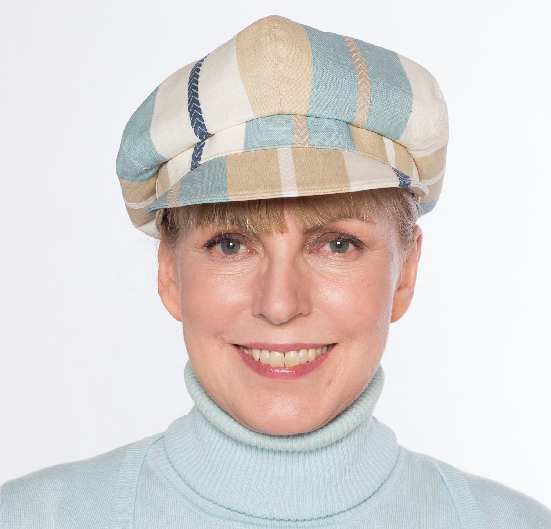 Hüte von Hand Hannah Regen gestreift
