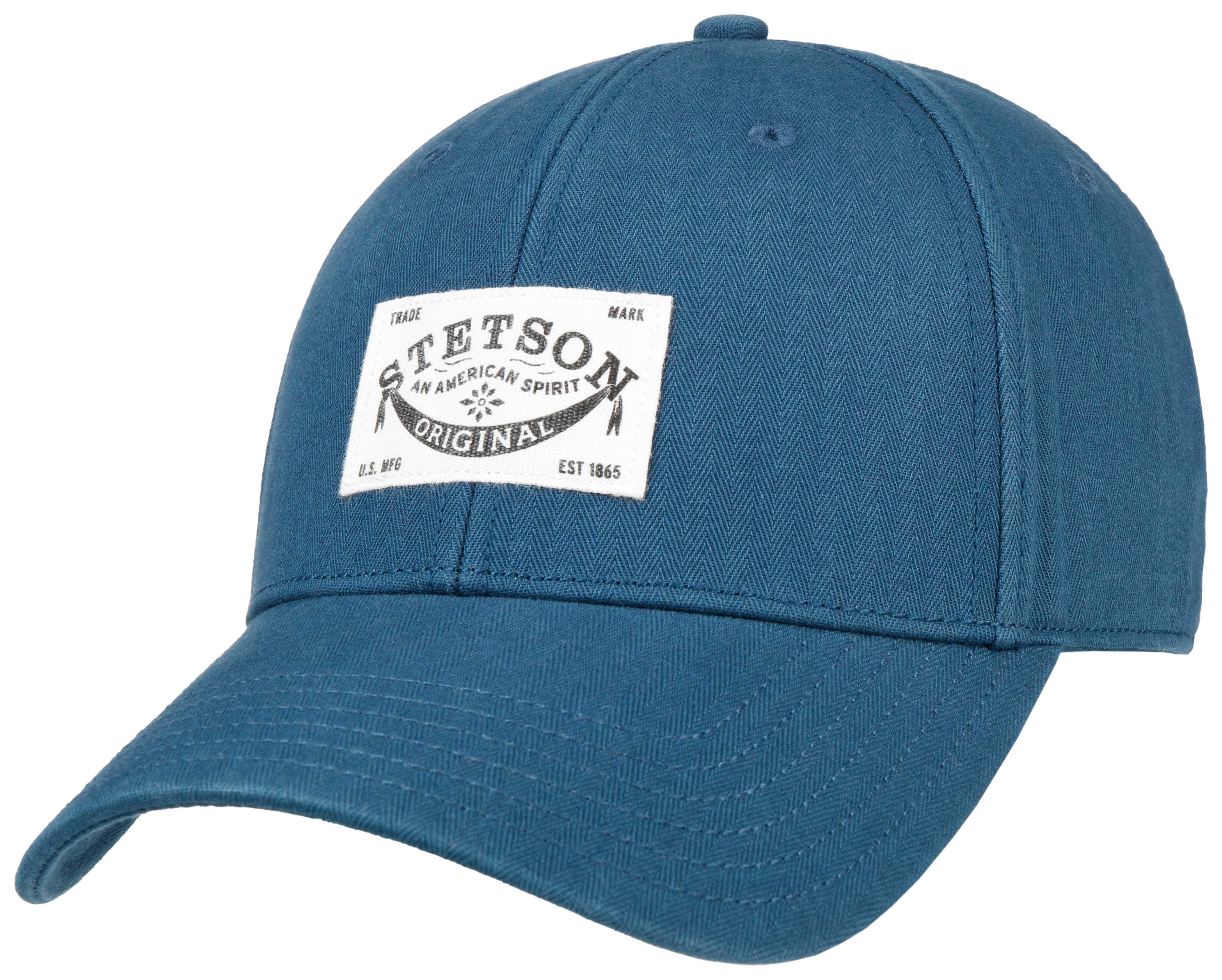 Stetson Classic Baumwollcap mit UV-Schutz