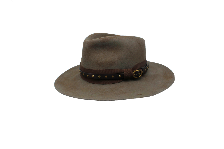 Hüte von Hand Spencer Tear-Drop Haarfilz-Fedora