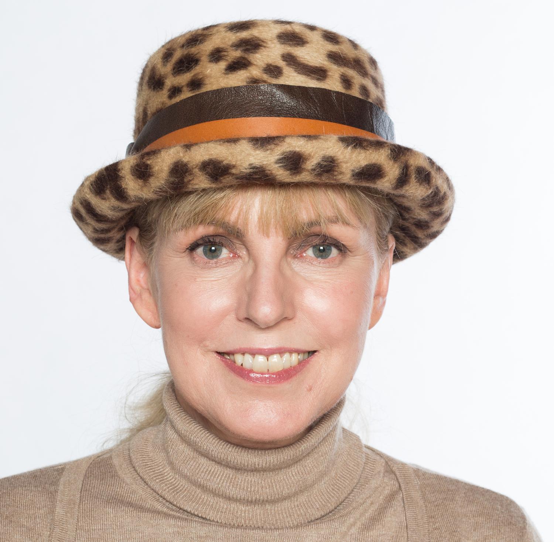 Hüte von Hand Pork Pie Leooptik Haarfilz