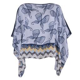 Cute Stuff Tunika Schmetterling hellblau