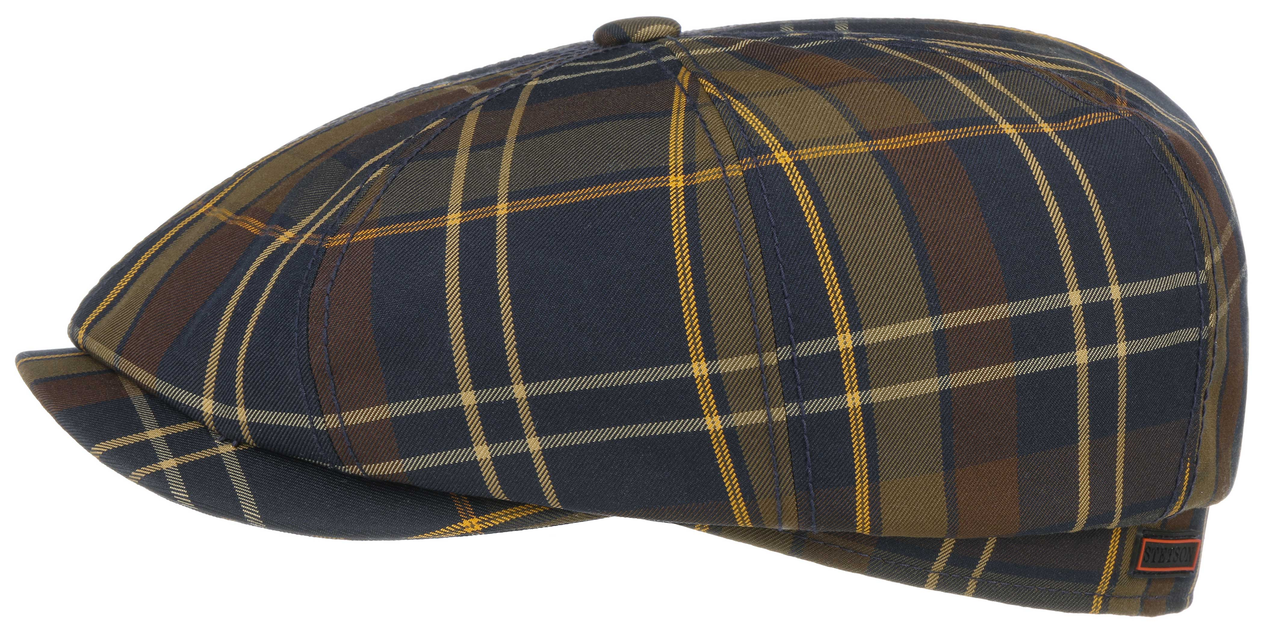 Ballonkappe Hatteras Check L-58/59 cm