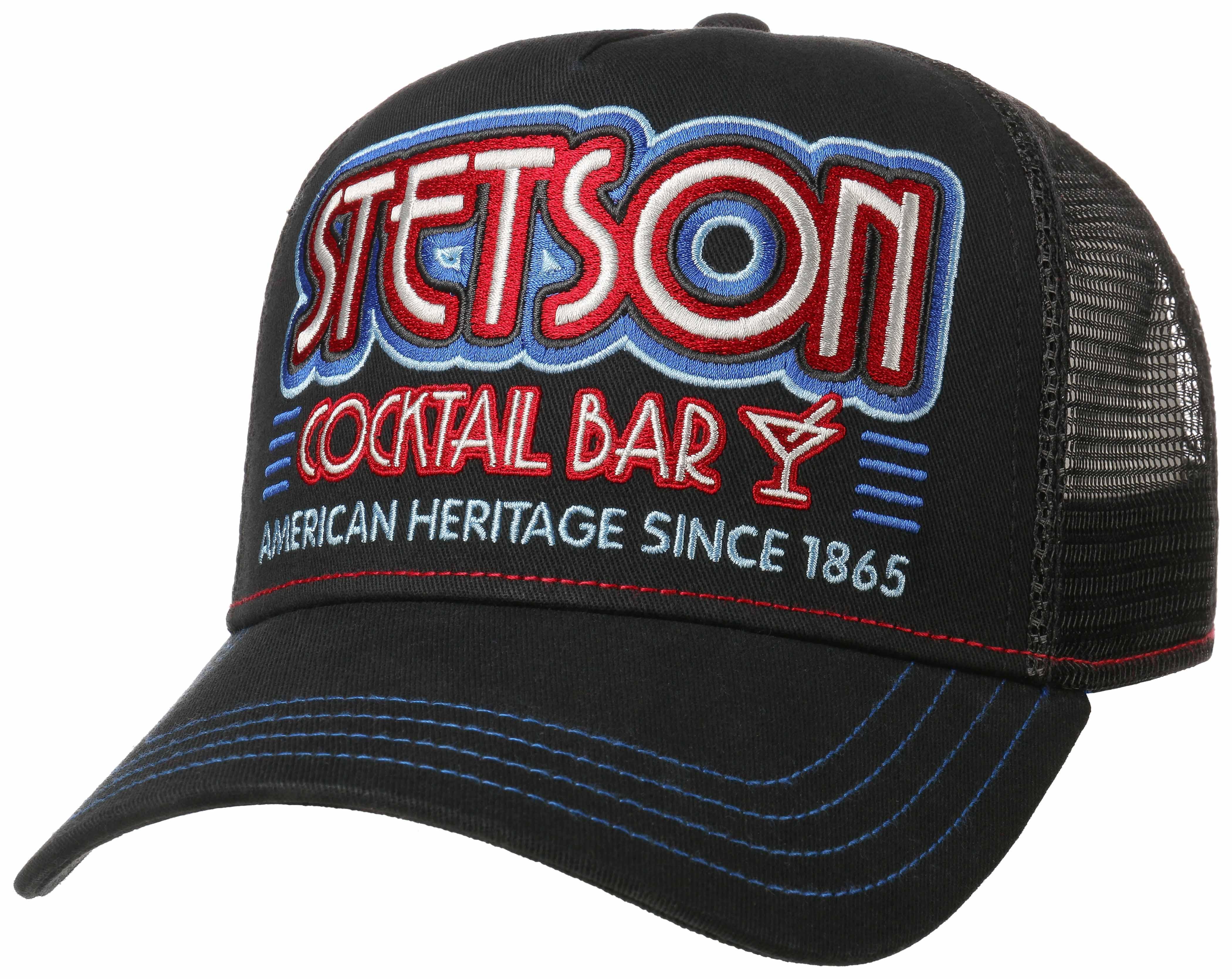 Stetson Trucker Cap Bar & Cocktail