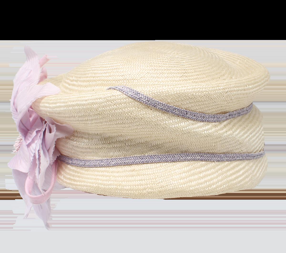 Hüte von Hand Pillbox Orchidee