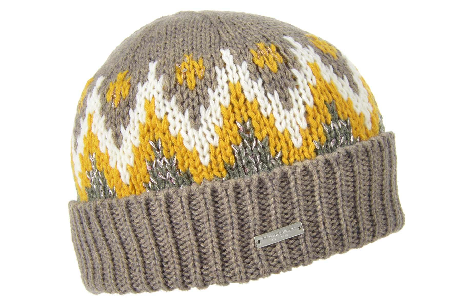 Seeberger Norweger Glamour Mütze