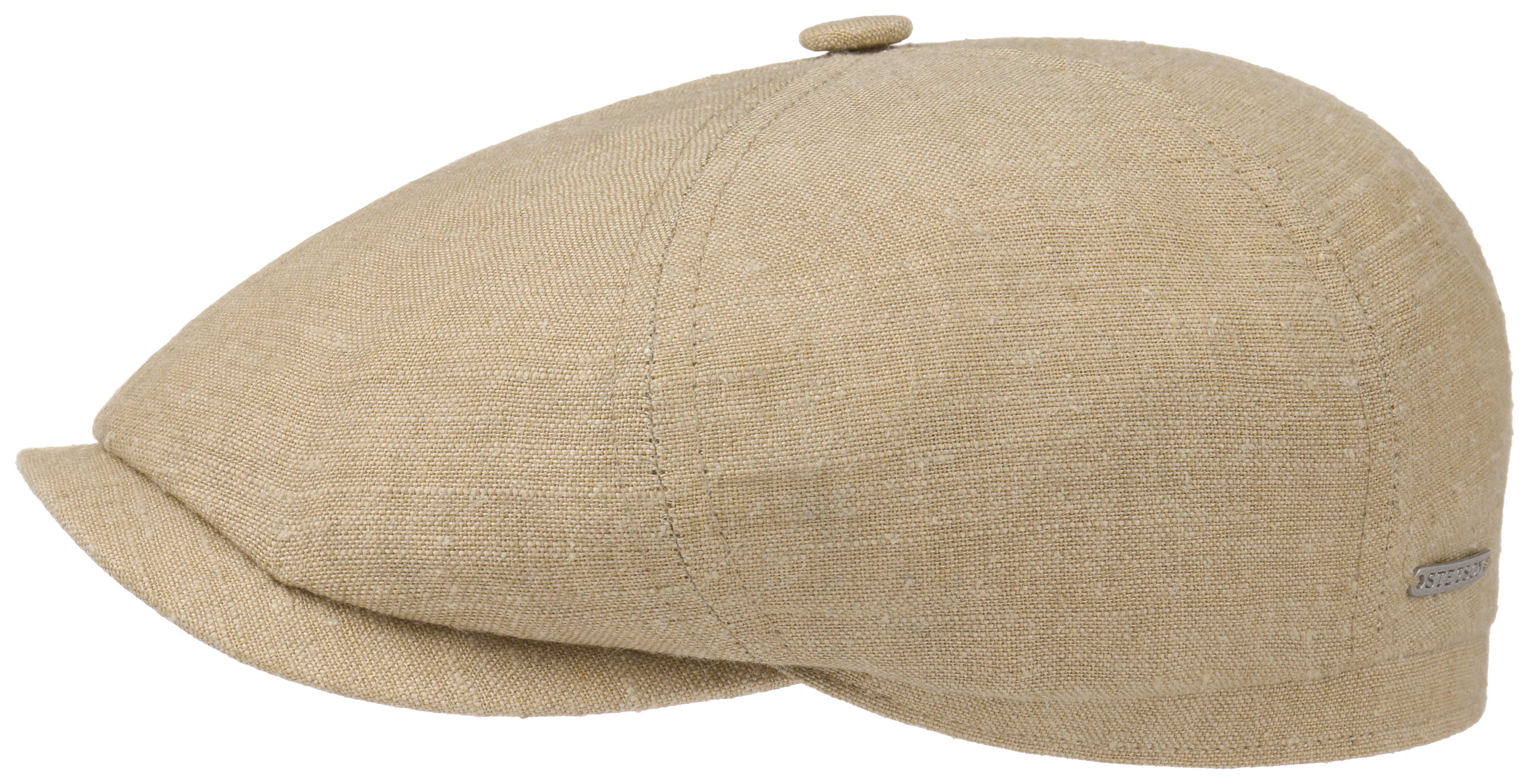 Flatcap Leinen-Seide 58 cm