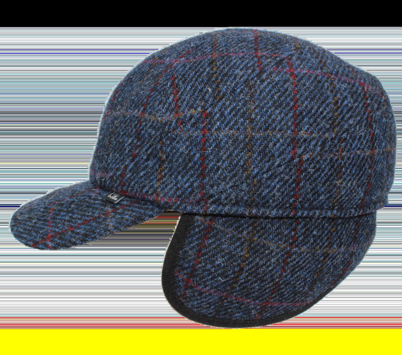 Basecap Harris Tweed mit Ohrenklappen 58 cm
