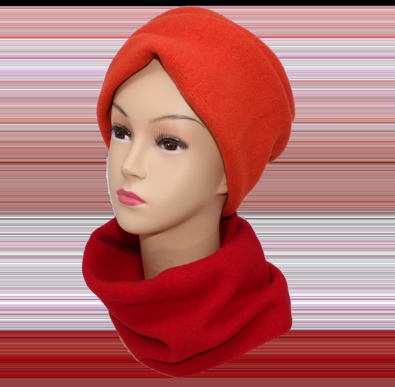 Bandeau Stirnband-Loop Rot