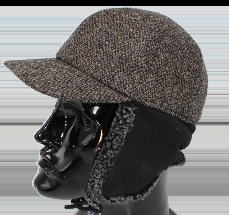 Schirmkappe Harris-Tweed 61cm