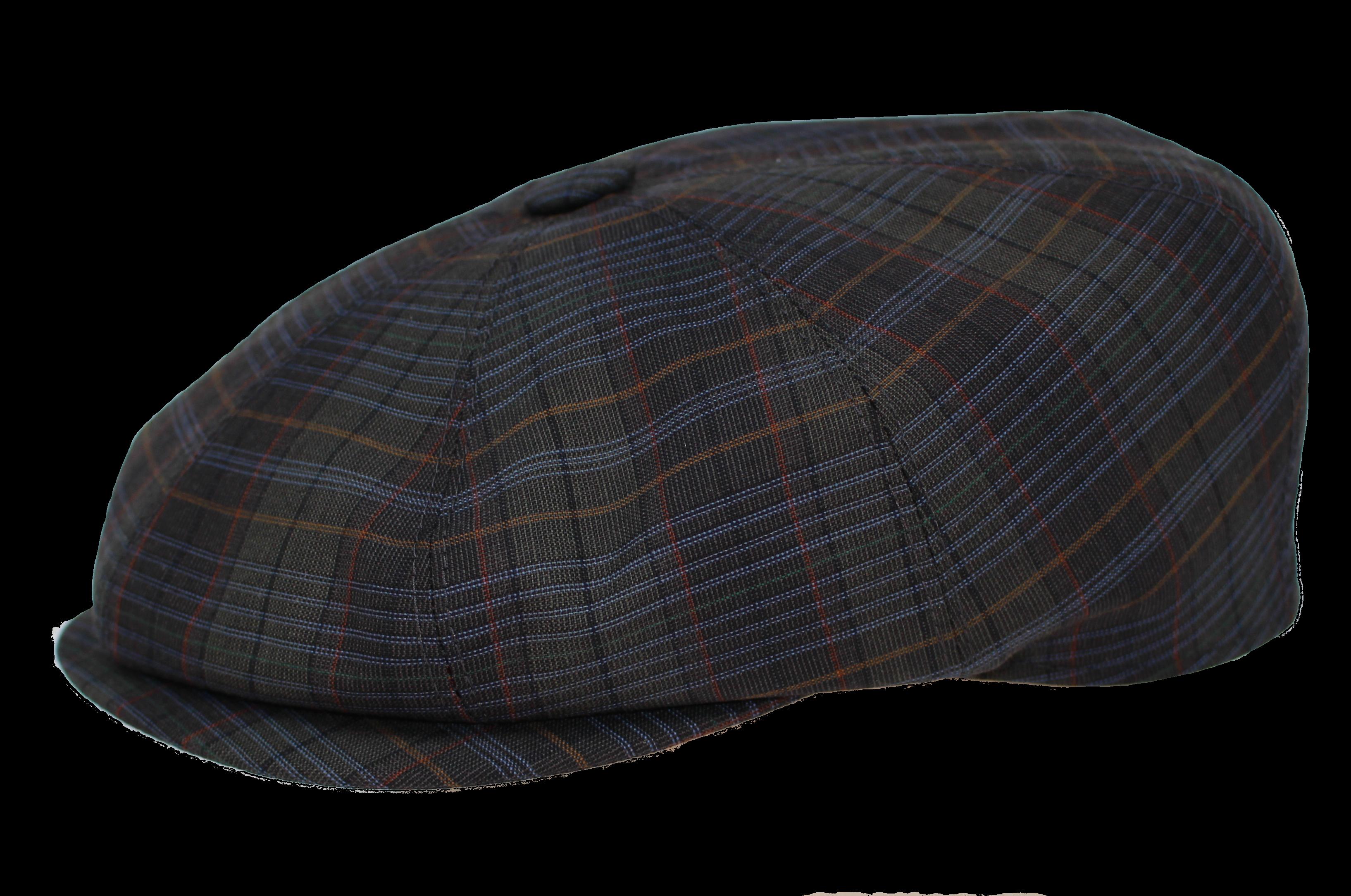 Ballonkappe 59 grün karo