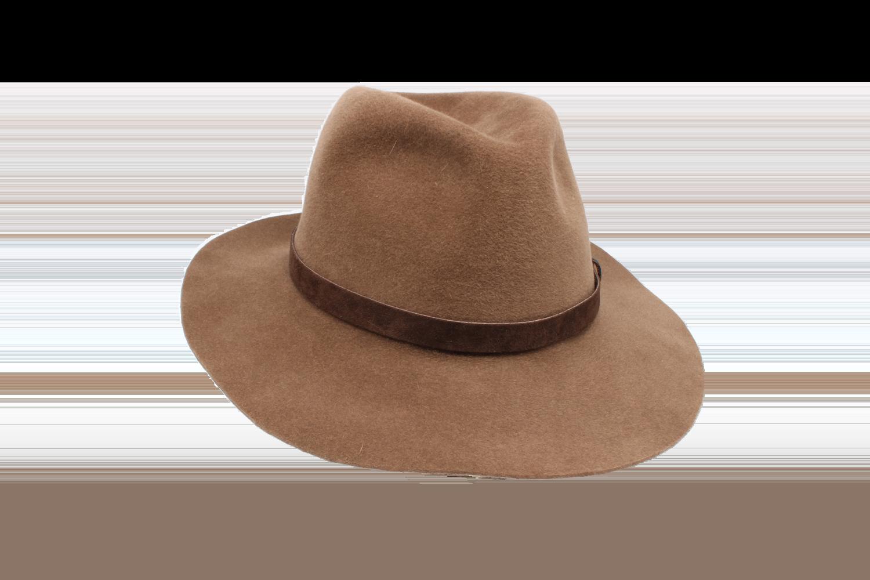Hüte von Hand Fedora Haarfilz Velours