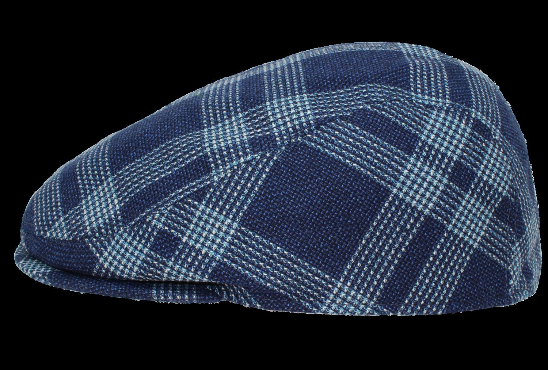 Flatcap schmal karo 60