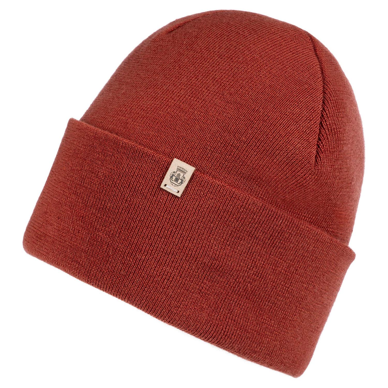 Pure Merino Mütze Rot
