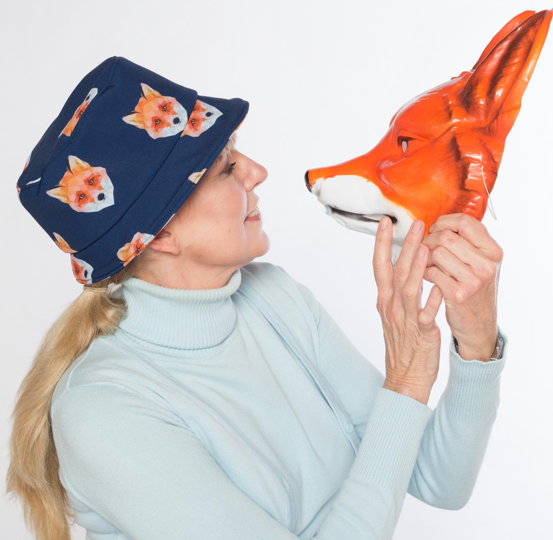 Hüte von Hand Annika Bucket Hat Fuchs