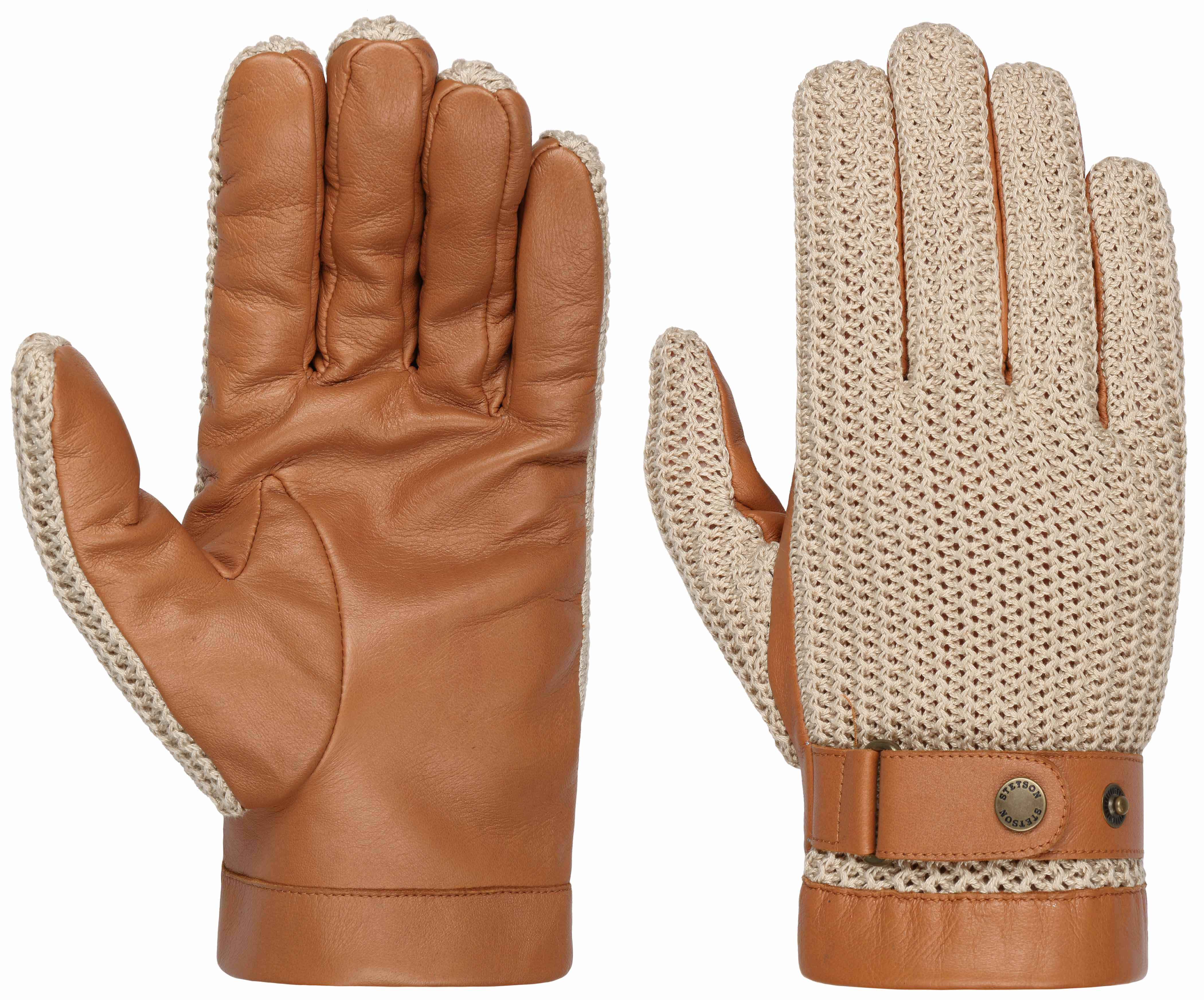 Stetson Sheep Nappa & Knit Handschuhe